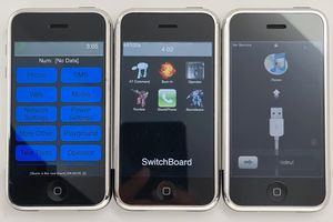 Hình ảnh hiếm của chiếc iPhone đời đầu