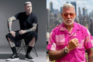 Người đàn ông 60 tuổi mặc đồ sành điệu không kém giới trẻ