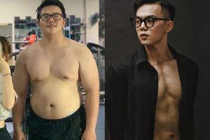 Chàng trai Hải Phòng từ 130 kg thành VĐV thể hình