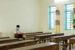 Hà Nam: Ngày thi đầu tiên, 1 thí sinh phải thi phòng riêng