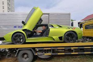 Lamborghini Murcielago bị 'tạm giam' ở Quảng Bình, nghi nhập lậu