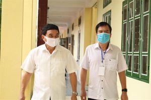 Điện Biên: Chấp hành nghiêm quy định phòng dịch trong Kỳ thi