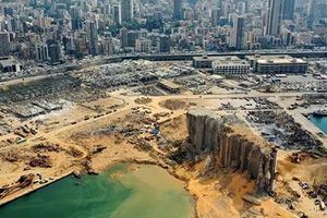 Vụ nổ Beirut tạo hố sâu 43 mét