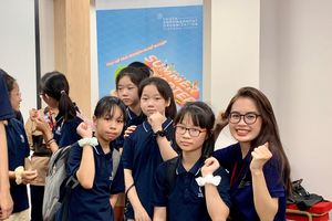 Nữ sinh trường Báo chí tài sắc vẹn toàn, đam mê dự án hướng nghiệp cho người trẻ