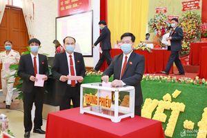Danh sách Ban Chấp hành Đảng bộ, Ban Thường vụ Huyện ủy Anh Sơn khóa XXI, nhiệm kỳ 2020 - 2025