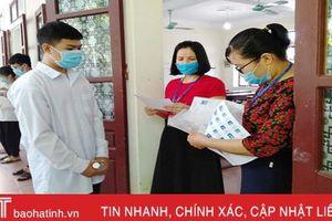Hơn 15 ngàn thí sinh Hà Tĩnh bước vào ngày thi đầu tiên Kỳ thi tốt nghiệp THPT 2020