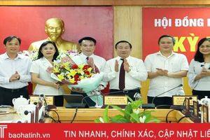 Miễn nhiệm chức vụ Trưởng ban Pháp chế HĐND tỉnh Hà Tĩnh nhiệm kỳ 2016 - 2021