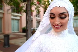Vụ nổ Beirut phá nát ngày trọng đại của nhiều cặp vợ chồng