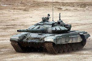 Xe tăng T-72 Nga có thể lặn xuống đáy sông sâu 5m như tàu ngầm