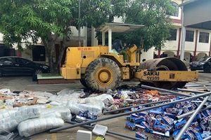 Nghệ An: tiêu hủy số lượng lớn hàng hóa vi phạm trị giá gần 1,5 tỷ đồng