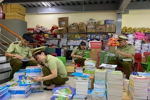 Hà Giang: tạm giữ gần 4.000 quyển sách giáo khoa có dấu hiệu giả mạo nhà xuất bản Giáo dục Việt Nam