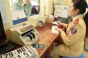 Muốn đổi biển số xe máy Hà Nội về tỉnh phải làm gì?
