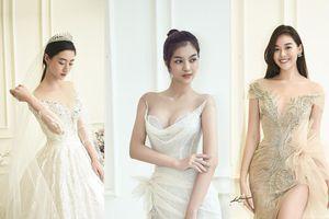 Lương Thùy Linh, Kiều Loan, Tường San đi thử đồ vẫn đẹp xuất thần như chụp ảnh tạp chí