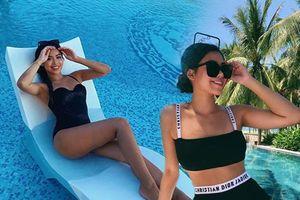Đẳng cấp mặc bikini của con nhà giàu Tiên Nguyễn: Không cần hở bạo vẫn đẹp sang