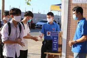 Quảng Bình: Cách ly dịch Covid-19, 12 học sinh không tham gia kỳ thi tốt nghiệp THPT