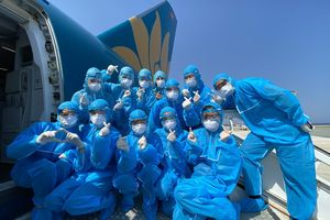 Chuyến bay đầu tiên đón người Việt về nước từ quốc đảo Cyprus và Saudi Arabia