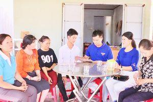 Xã Cam Hiệp Nam: Từng bước ổn định mức sinh
