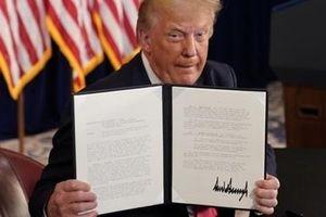 Ông Trump ký sắc lệnh cứu trợ dân Mỹ trong dịch COVID-19