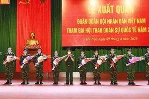 Việt Nam xuất quân tham gia Army Games 2020