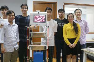 'Robot vận chuyển tự động' ra đời trong mùa Covid-19