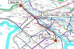 Đề xuất đầu tư 68.980 tỷ đồng xây cao tốc Châu Đốc – Cần Thơ – Sóc Trăng
