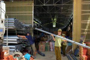 Hà Giang: Tạm giữ gần 500 ống nhựa tại 02 cơ sở kinh doanh vật tư điện nước trên địa bàn
