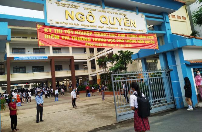 Hơn 75.000 học sinh thành phố Hồ Chí Minh tự tin thi tốt nghiệp trung học phổ thông