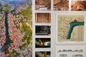 Triển lãm về kiến trúc làng Việt truyền thống