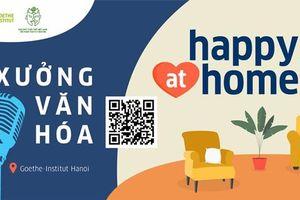Thưởng thức hình thức sân khấu đặc biệt ''Happy@home''