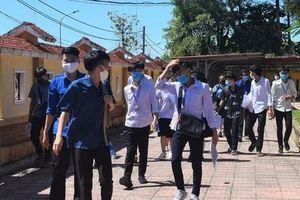 12 thí sinh ở Quảng Bình không thể dự thi THPT do phải cách ly COVID-19