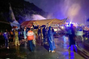 Điện chia buồn vụ tai nạn máy bay tại Ấn Độ