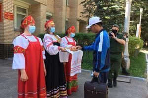 Đoàn Quân đội nhân dân Việt Nam đến LB Nga tham dự Army Games 2020