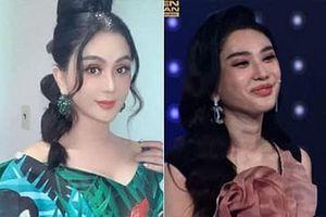 Lâm Khánh Chi gây bất ngờ khi lộ nhan sắc thật trên sóng truyền hình