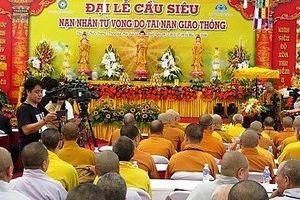 Đẩy mạnh Chương trình phối hợp 'Tăng ni, Phật tử tham gia bảo đảm, trật tự ATGT'