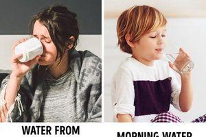 Tại sao không nên đặt cốc nước cạnh giường ngủ?
