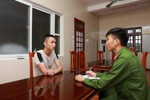 Nguyễn Văn Vũ - đối tượng bị Công an Hà Nội truy nã sa lưới ở Hà Tĩnh