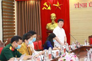 Ban Thường vụ Tỉnh ủy duyệt Đại hội Đảng bộ Công an tỉnh nhiệm kỳ 2020 - 2025