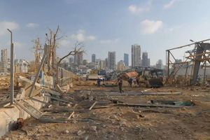 Vụ nổ ở Beirut- Phát hiện hệ thống hầm trú ẩn dưới lòng đất