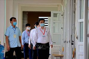 Thứ trưởng Nguyễn Hữu Độ: Bảo đảm chấm thi nghiêm túc, khách quan, công bằng, chính xác