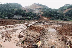 Liên tiếp xảy ra sự cố vỡ đập chắn tại Mỏ khai thác quặng sắt núi 300 ở Yên Bái