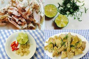 Cách làm nước chấm, muối chấm thịt gà chuẩn hơn cả ngoài hàng