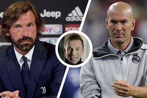 'Pirlo có thể trở thành một huấn luyện viên vĩ đại hơn Zidane'