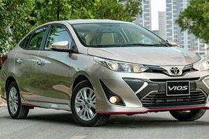 Giá lăn bánh Toyota Vios 2020 tháng 8/2020