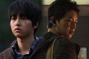 Song Hye Kyo quá nặng tình, Song Joong Ki đã trở lại và vui vẻ hơn xưa: Nghèo khổ, bán mạng kiếm tiền trong 'Space Sweers'
