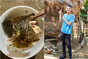 Mạc Văn Khoa chia sẻ hình ảnh miếng cá rô và tình cảm của bố làm dân mạng xúc động