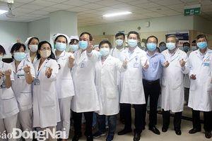 Gỡ bỏ phong tỏa Khoa Ung bướu Bệnh viện đa khoa Đồng Nai