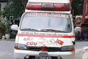 Diễn biến mới vụ 'xe cứu thương' hú còi đi đòi nợ ở Phan Thiết