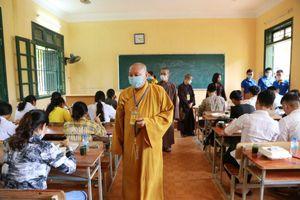 Phật giáo Tuyên Quang tiếp sức mùa thi