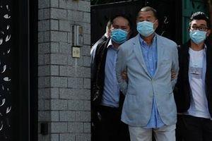 Ông trùm truyền thông Hong Kong bị bắt theo luật an ninh mới