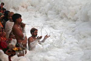 7 dòng sông thánh ô nhiễm nhất ở Ấn Độ